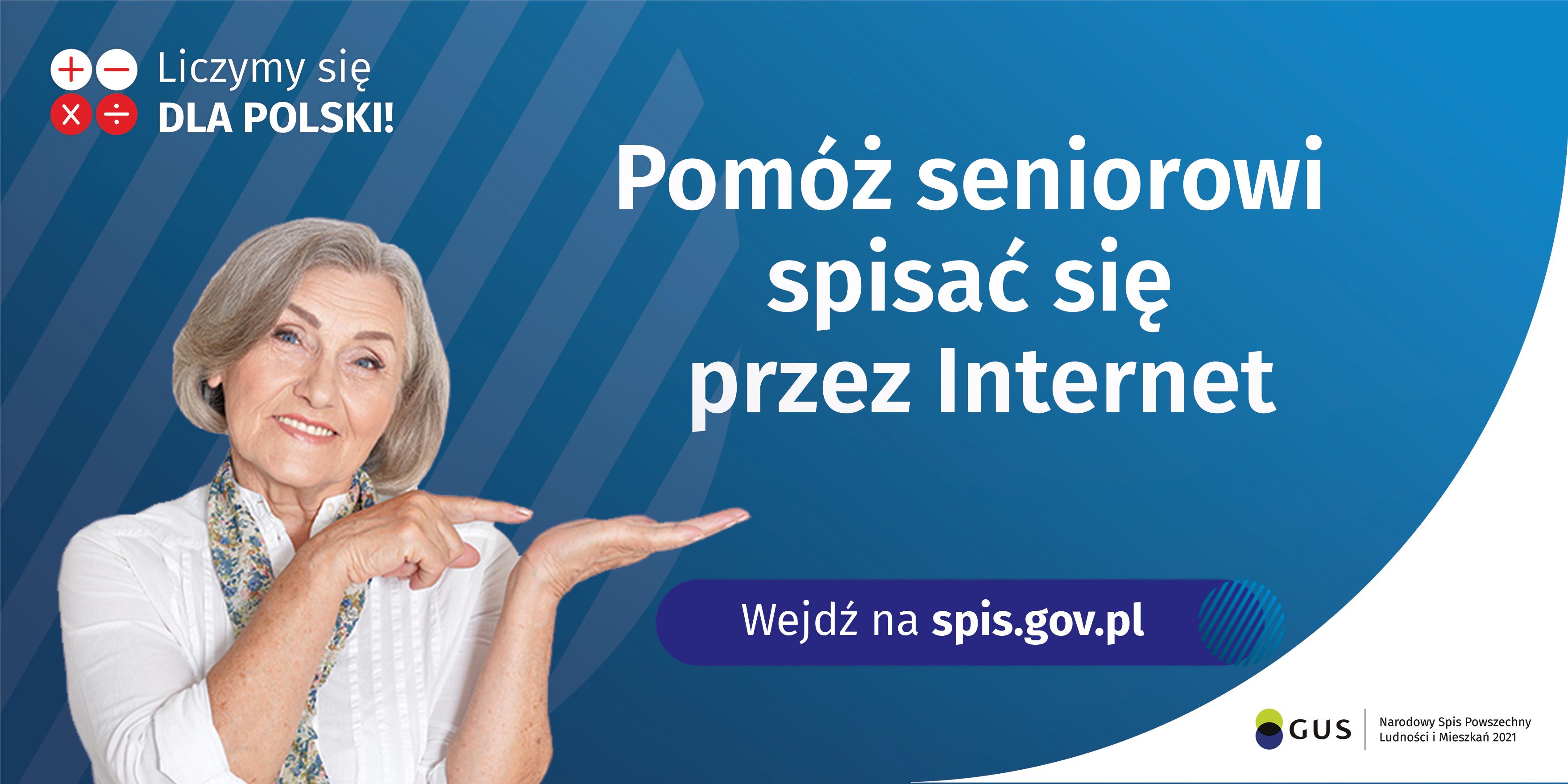 Pomóż seniorowi spisać się przez Internet